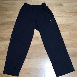 Nike Dri Fit Navy Athletic Pants Jogger M NEW